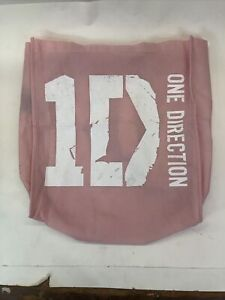 One Direction 2012 Memorabilia Tote Bag -Pink 1 D One Direction Graphic Print