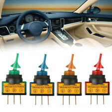 4x Rocker Switch Toggle Led Light 12V Car Auto Boat Round On/Off SPST 20 AMP