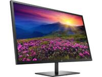 "HP Pavilion 32 QHD 32"" 2560x1440 @ 60 Hz 10000000:1 dynamic 3000:1 Static 5ms"
