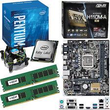 Intel Pentium G4560 3.5Ghz, Asus H110M-A/M.2 & 16GB 2133Mhz DDR4 RAM