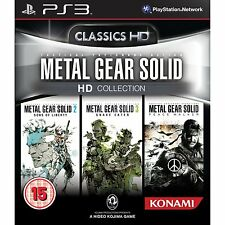 METAL GEAR SOLID HD COLLECTION TEXTOS EN ESPAÑOL NUEVO PRECINTADO PS3