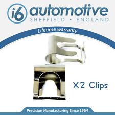 x2 CHROME AUDI A2 A3 A4 A6 TT WINDSCREEN WIPER MOTOR LINKAGE REPAIR CLIP KIT