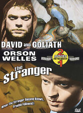 David and Goliath & The Stranger - Double Feature (DVD, 2004) NEW