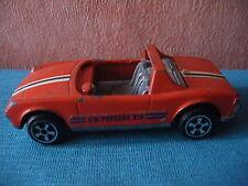 483 F POLITOYS ITALY E 17 VW VOLKSWAGEN PORSCHE 914 ORANGE DIE CAST EM SB 1/43