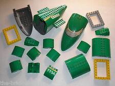 Vrac Lot de pièces pour avion LEGO CITY  set  7734 Cargo Plane