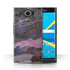 STUFF4 Back Case/Cover/Skin for BlackBerry Priv/Tree Bark