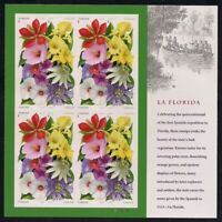 La Florida Sheet of 16 Forever Stamps Scott 4750-4753