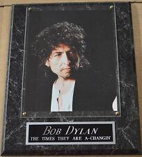 #1 Fan Bob Dylan Framed 8 X 10 Photo-Man Cave Art-12X15 Wall Plaque Display