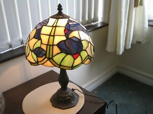 Tiffany Style Table Lamp Stained Glass ,