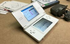 Nintendo DS Lite White - Includes Original Charger/Stylus & Brain Training Game