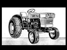Kubota L175 T F Parts Manual & L-175 Tractor Operations Owners & Parts List info