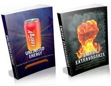 """2 """" Energy """" Ebooks - Get More Energy Today - PDF + Full Resale Rights - Fast"""