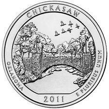 2011 5 oz America The Beautiful ATB Chickasaw Silver Coin .999 Fine
