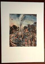 Stampa GEORGES ROUAULT Versailles (Lo zampillo) Grafica Arte Edizioni Seat 1988