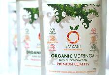 MORINGA Pure Organic Raw Powder 100 g PREMIUM QUALITY (U.K)