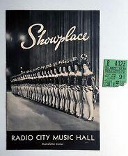 1952 Radio City Music Hall New York Theater Program Ivanhoe w/ Elizabeth Taylor