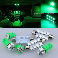 LED Lights Interior Package Kit Map Dome Blubs for Dodge RAM 09-2012 5X Green