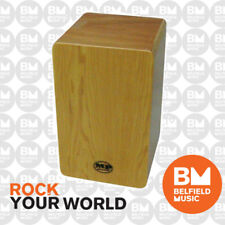 Mano Percussion MP985M Cajon Drum Maple Finish AMS - BM - Belfield Music