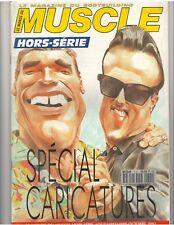 Le Monde Du MUSCLE  bodybuilding mag/Arnold w/poster/Reeves/Rachel 10-92 (Fr)