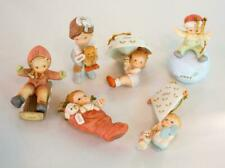 Set/6 Lucie Atwell Memories of Yesterday Ornaments Enesco 1989-1994 Children