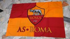 bandiera ufficiale roma  football 100x150 cm oficial flag soccer football