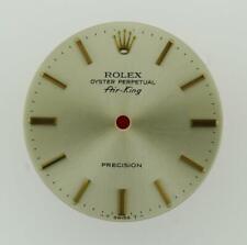 Original Rolex Air-King Precision 34mm 5500 Silver Stick Dial 2/Tone #L27