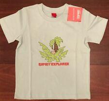 NEW! Esprit Boys Light Blue 'Esprit Explorer' T-shirt Size 4 Great Gift!