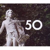 WELSER-MÖST/POMMIER/MUTI/KARAJAN/+ - 50 BEST MOZART 3 CD KLASSIK NEW+