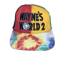 Vintage Waynes World 2 'Party On!' Merchandise Snap Back Cap Made In USA 1993