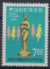 Corea-sur 1968 ** mi.636 educación escolar School Education mujeres Women [st0815]