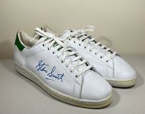 Vintage 80's Autographed Stan Smith Supreme sneaker Adidas Framed Tennis Signed
