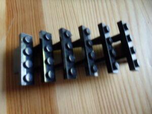 Escalier Lego NOIR 7x4x6 ref 30134 set 10128 4184 10188 1381 4556 8876