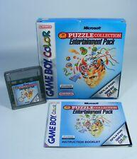 6 IN 1 PUZZLE COLLECTION für Nintendo Game Boy Color GBC GBA Anleitung OVP Spiel