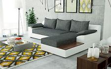 Couch Garnitur Ecksofa Sofagarnitur Sofa NEMO Polsterecke mit Schlaffunktion