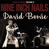 "Nine Inch Nails w/ David Bowie 'Back In Anger Vol. 2' Gatefold 2x12"" Vinyl - NEW"