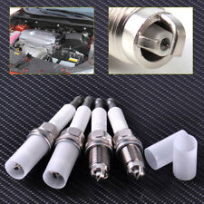 New 4pcs Spark Plug 90919-01221 SK20BGR11 Triple Electrode Fit for Toyota Wish