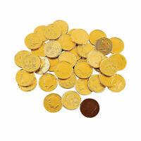 Gold Chocolate Coins (1Lb Bag) - 60 Pieces