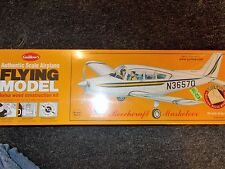 GUILLOWS AUTHENTIC SCALE AIRPLANE FLYING MODEL BEECHCRAFT MUSKETEER