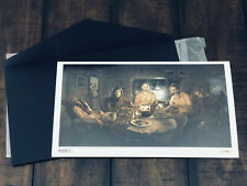 Resident Evil 7 VII PS4 Collector's Edition Exclusive Lithograph Art Capcom