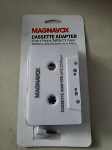 Philips Magnavox Smartphone, Ipod, CD, Portable DVD ,MP3 Cassette Adapter