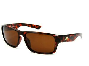 Kreedom INCOGNITO Unisex Polarized Sunglasses, Tortoise / Brown 59-15-132 #05H