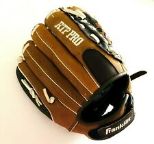 """Franklin RTP PRO 22552S4 Youth 12"""" Baseball Glove Right Hand Throw Brown Leather"""