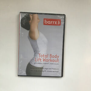 BARRE 3 Total Body Lift Workout DVD NEW