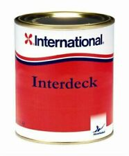 International INTERDECK Non Slip Resistant Boat Yacht Deck Paint in ALL COLOURS