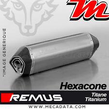 Silencieux Pot échappement Remus Hexacone titane Triumph Tiger Explorer XC 2014