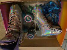 Impala - Quad Roller Skates | Vegan - Womens | Holographic - Size: 8. Preowned.
