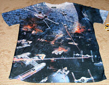 "Fifth Sun ""Star Wars Space Battle"" Mens Size (MD) Short Sleeve Tee T-Shirt! New!"