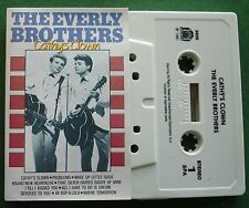 The Everly Brothers Cathy's Clown inc Til I Kissed You + Cassette Tape - TESTED