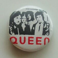 QUEEN OLD METAL BUTTON BADGE FROM THE 1980's MAY MERCURY TAYLOR DEACON