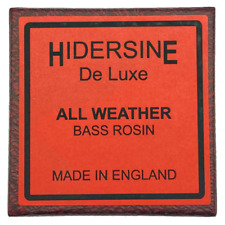 More details for hindersine 6b deluxe all weather double bass rosin - uk seller free uk shipping